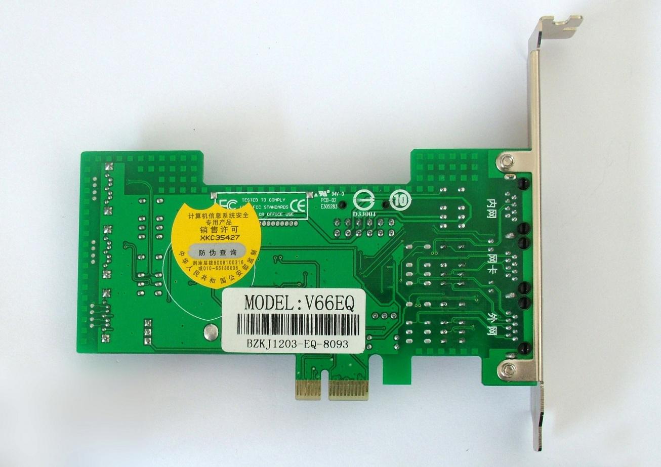 博智隔离卡博智双硬盘物理隔离卡V66GSE(PCI-E千兆版)是插在主板 PCI-E 槽上新型隔离卡,它具有实时快速切换功能,支持大、小机箱,适用于双布线环境,也适用于单布线网络环境。是国家保密局推荐产品。ISO9001国际质量认证产品。 博智双硬盘物理隔离卡V66GSE(PCI-E千兆版)隔离卡为全球首创,技术领先,支持PCIE通讯控制,不占用主板COM口、USB口,实现真正意义上PCI-E通讯.